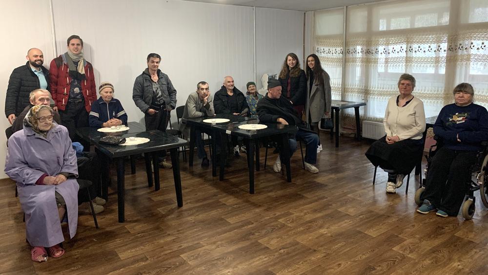 Поїздка молоді в Ясногородку