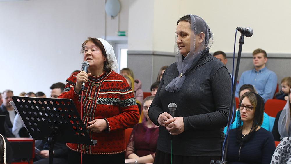 Тамара Листовнича та Надія Бойко