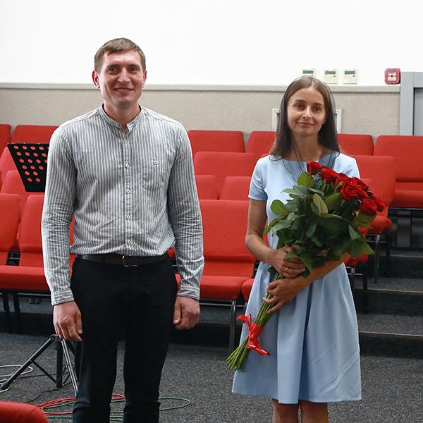 Заручена пара Андрій та Катерина