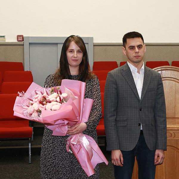 Заручена пара Діма та Уляна