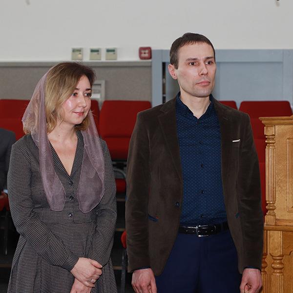 Заручена пара Юрій та Оксана