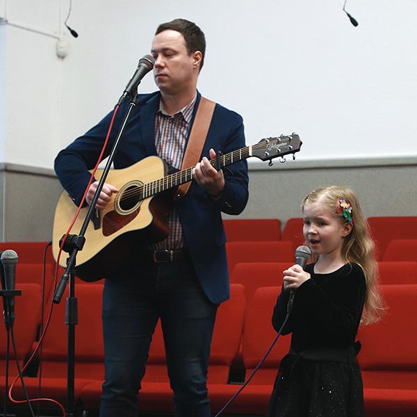 Олександр Боруль та його донька