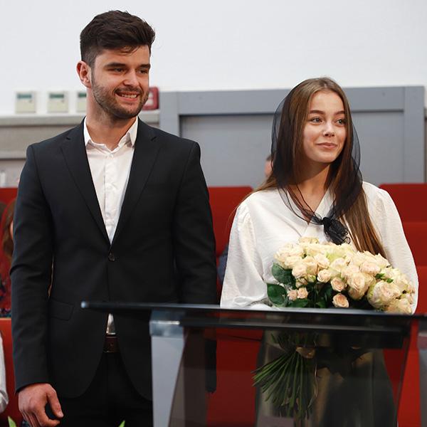 Заручена пара Микола та Анна